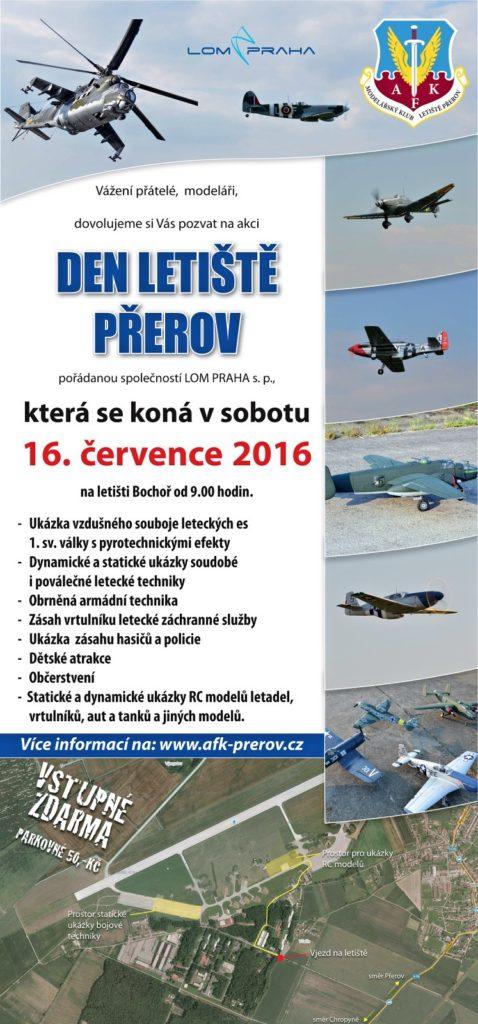 pozvanka letistě AFK 2016