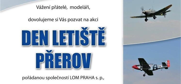 Pozvánka na den letiště Přerov