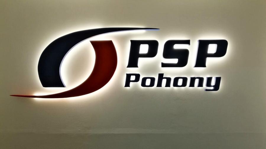 Instalace loga PSP Pohony