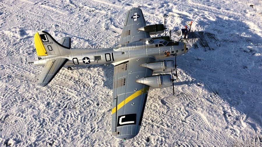 Dnešní létání s B-17 Flying Fortress