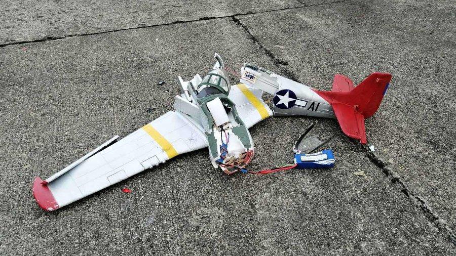 Dnešní crash Mustanga P51 pilot Marian